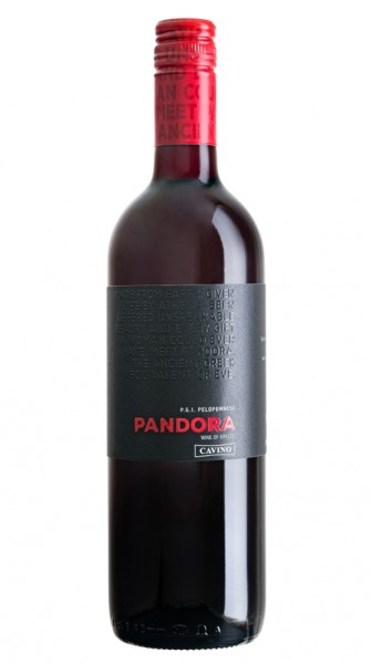 Pandora Agiorgitiko-Syrah – Rot trocken (750 ml)