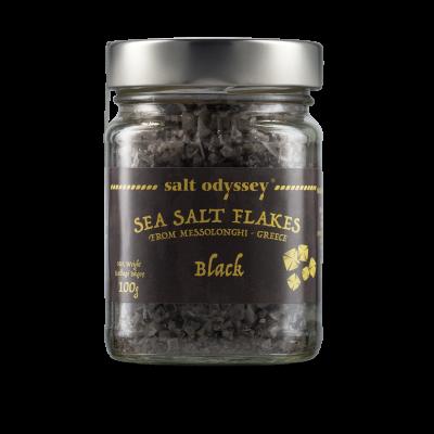 Meersalz Flocken - Schwarz (100g) Salt Odyssey