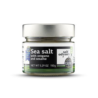 Meersalz mit Oregano und Sesam (150g) Salt Odyssey