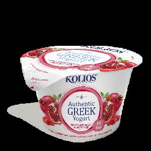 Yoghurt 0% Himbeeren und Granatapfel (150g) Kolios