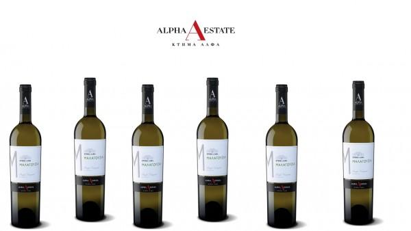 6er Paket - Malagouzia Alpha Estate - Weiß trocken