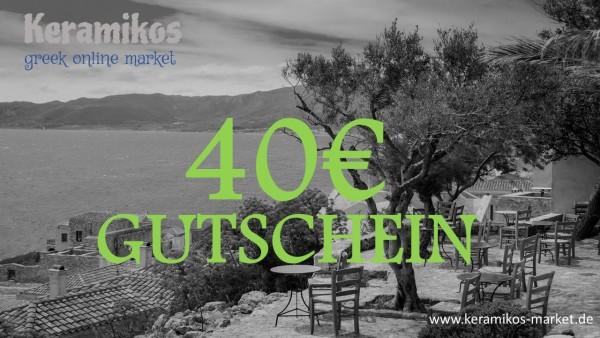 40€ - Geschenkgutschein