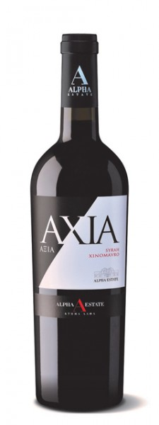 Axia Syrah-Xinomavro - Rot trocken (750ml) Alpha Estate