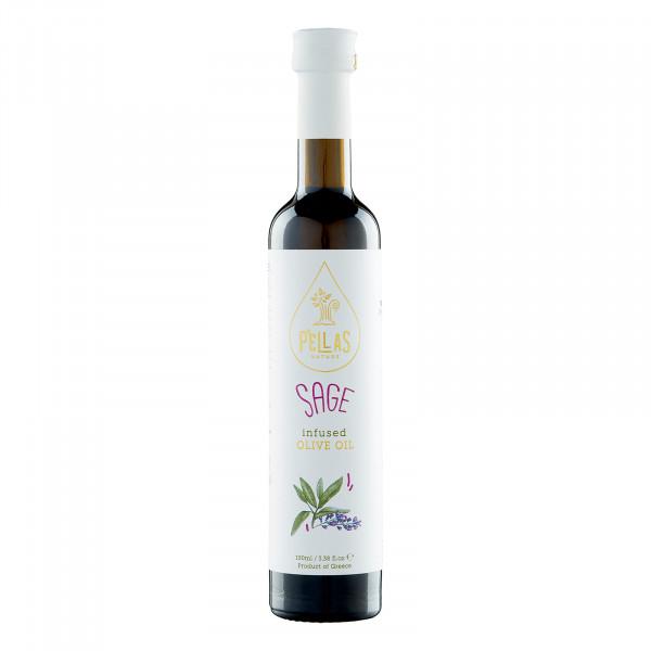 Olivenöl Natives Extra mit Salbei (100ml)