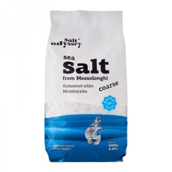 Natürliches Meersalz (1kg) Salt Odyssey