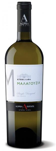 Malagouzia Alpha Estate - Weiß trocken (750ml)