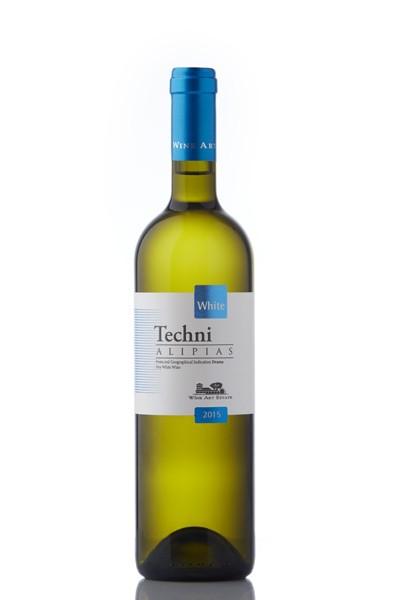 Techni Alipias Sauvignon Blanc-Assyrtiko – Weiß trocken (750 ml)