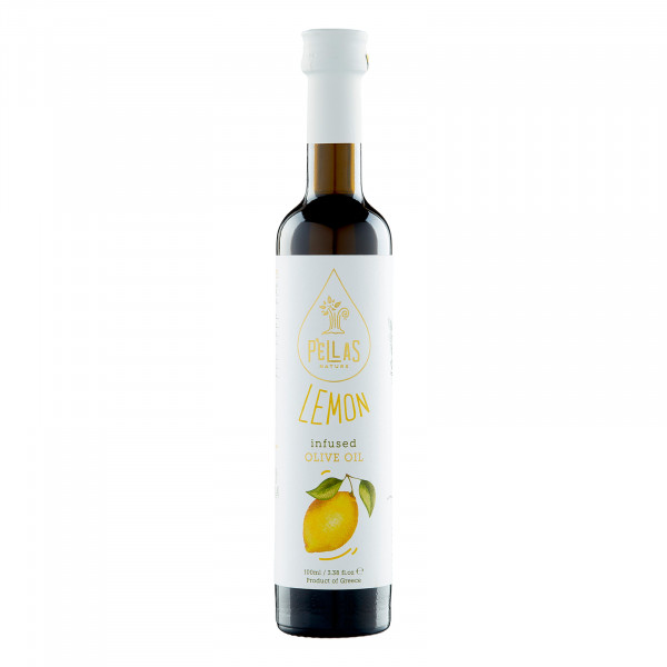 Olivenöl Natives Extra mit Zitrone (100ml)
