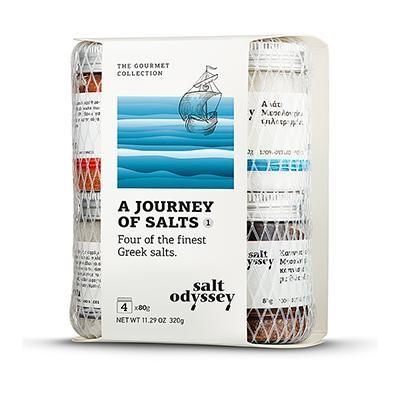 Griechische Salzreise (4x80g) Salt Odyssey