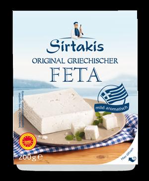Original griechischer Feta (200g)Sirtakis